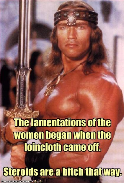 The lamentations of the women began when the loincloth came off.