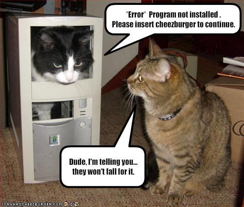 *Error*  Program not installed .