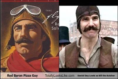 Red Baron Pizza Guy Totally Looks Like Daniel Day Lewis as Bill the Butcher