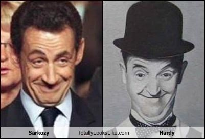 Sarkozy Totally Looks Like Hardy