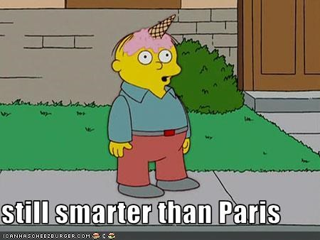 still smarter than Paris