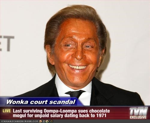 Wonka court scandal - Last surviving Oompa-Loompa sues chocolate mogul for unpaid salary dating back to 1971