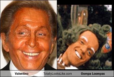 Valentino Totally Looks Like Oompa Loompas