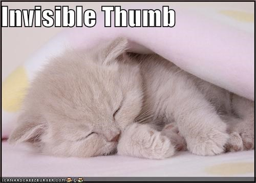Invisible Thumb