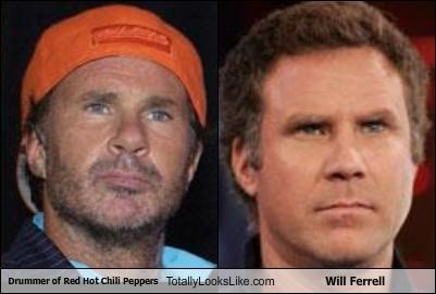Drummer of Red Hot Chili Peppers Totally Looks Like Will Ferrell