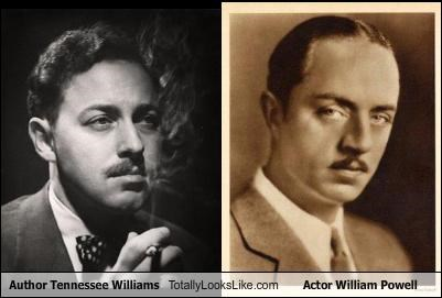 Author Tennessee Williams Totally Looks Like Actor William Powell