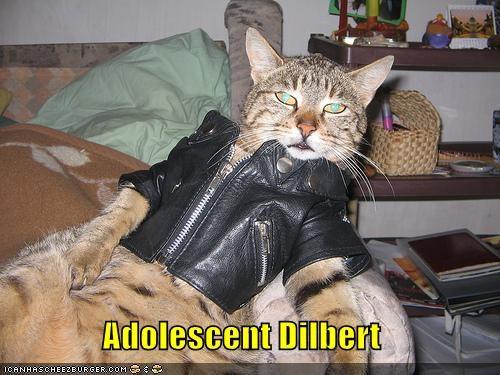 Adolescent Dilbert