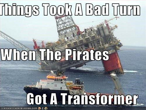 Things Took A Bad Turn When The Pirates Got A Transformer