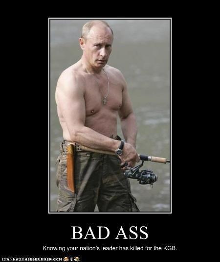 bad ass,KGB,kill,tough,Vladimir Putin,vladurday