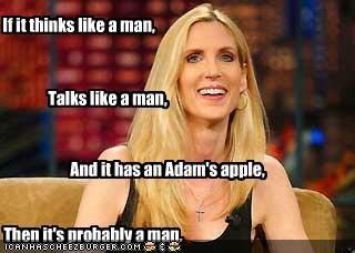 If it thinks like a man,