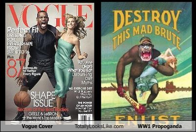 Vogue Cover Totally Looks Like WW1 Propoganda