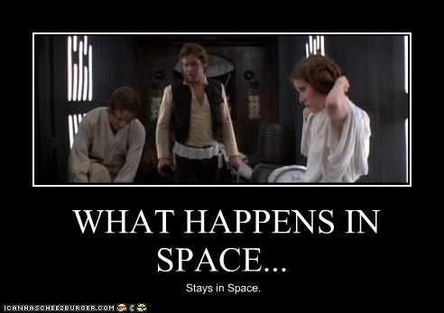 WHAT HAPPENS IN SPACE...