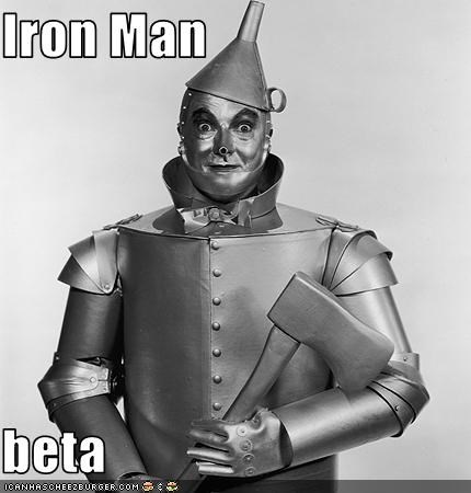 Iron Man  beta