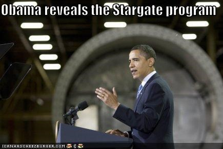 Obama reveals the Stargate program