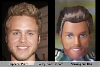 Spencer Pratt Totally Looks Like Shaving Fun Ken