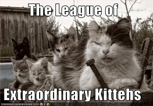 The League of  Extraordinary Kittehs