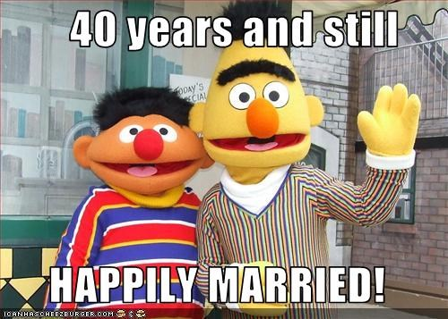40 years and still   HAPPILY MARRIED!