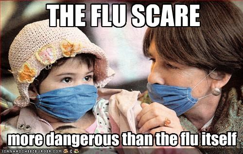 hysteria,scared,swine flu