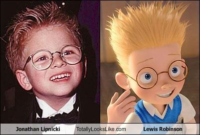 Jonathan Lipnicki Totally Looks Like Lewis Robinson