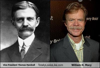 Vice President Thomas Marshall Totally Looks Like William H. Macy