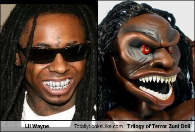 Lil Wayne Totally Looks Like Trilogy of Terror Zuni Doll
