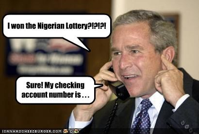 I won the Nigerian Lottery?!?!?!