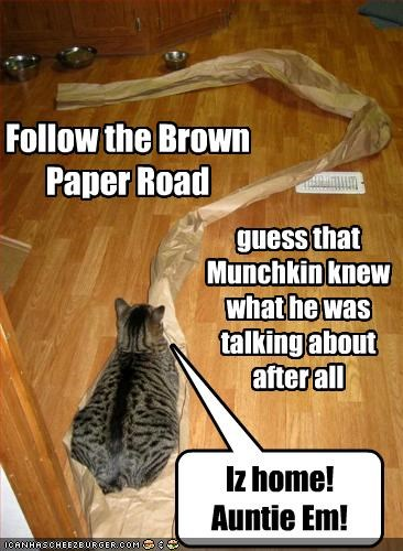 Follow the Brown Paper Road