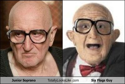 Junior Soprano Totally Looks Like Six Flags Guy