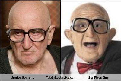 Junior Soprano Totally Looks Like Six Flags Guy