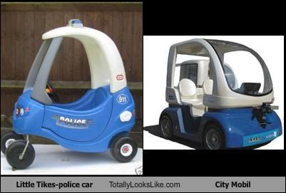 Little Tikes-police car Totally Looks Like City Mobil