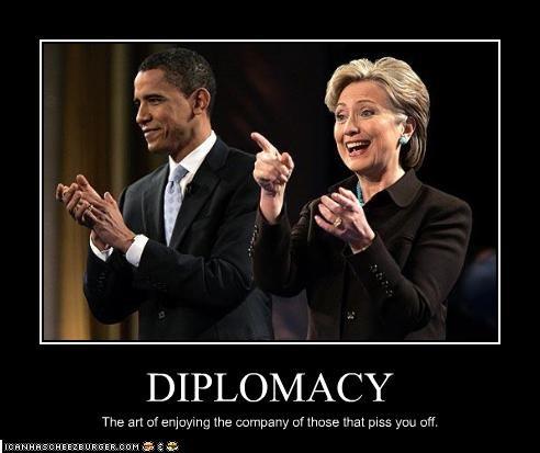 barack obama,democrats,diplomacy,Hillary Clinton,president,secretary of state