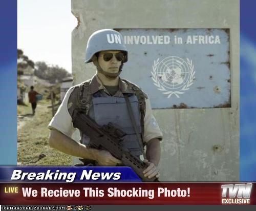 Breaking News - We Recieve This Shocking Photo!