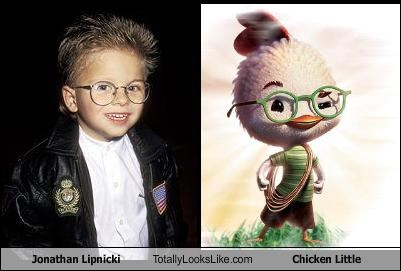 Jonathan Lipnicki Totally Looks Like Chicken Little