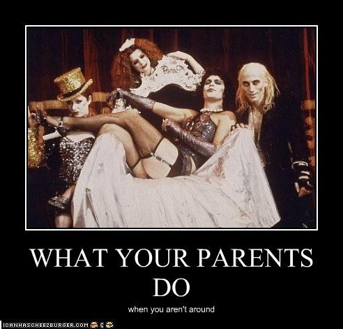 camp,parents,richard-obrien,The Rocky Horror Picture Show,tim curry