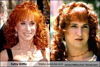 "Kathy Griffin Totally Looks Like  Harland Williams from ""Sorority Boys"""