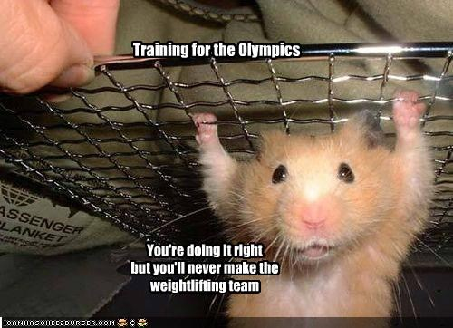 Training for the Olympics