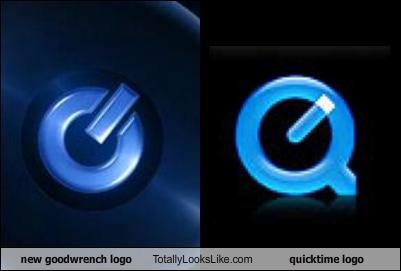new goodwrench logo Totally Looks Like quicktime logo