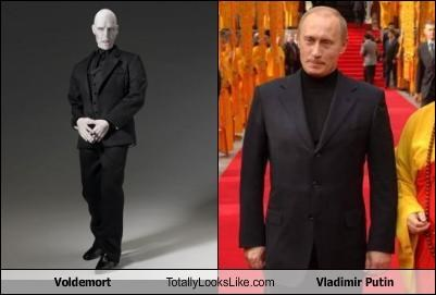 Voldemort Totally Looks Like Vladimir Putin