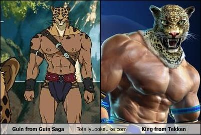 Guin from Guin Saga Totally Looks Like King from Tekken