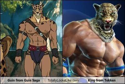 Guin from Guin Saga Totally Looks Like King from Tekken