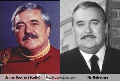 James Doohan (Scotty) Totally Looks Like Mr. Belvedere