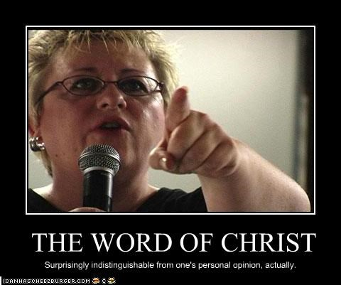 THE WORD OF CHRIST