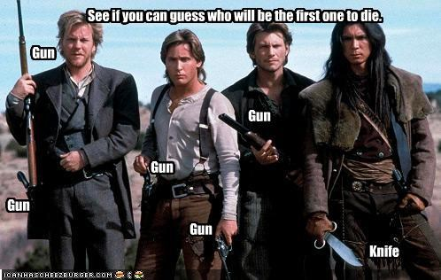 See if you can guess who will be the first one to die.