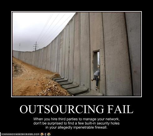 OUTSOURCING FAIL