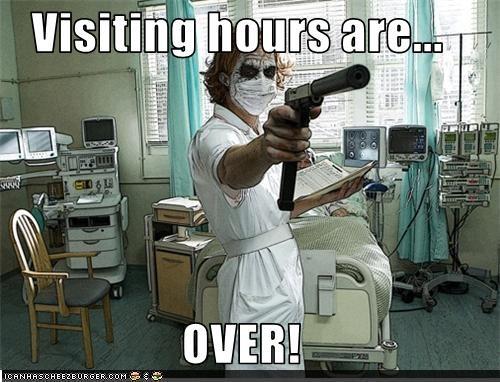 batman,heath ledger,hospital,nurse,the goddamn batman,the joker