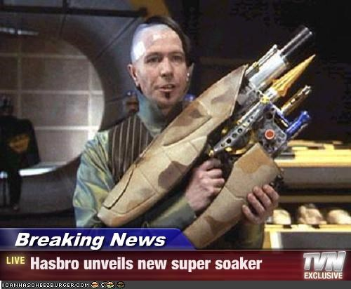 Breaking News - Hasbro unveils new super soaker