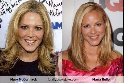 Mary McCormack Totally Looks Like Maria Bello