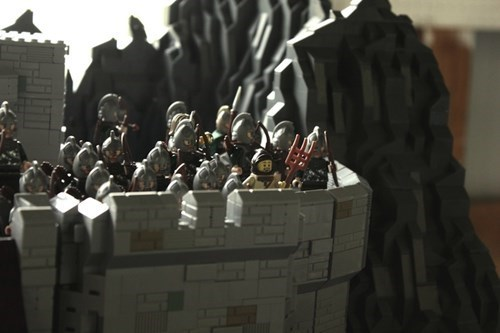 Head Into Helm's Deep With This LEGO Recreation