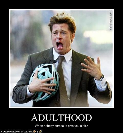 adulthood,brad pitt,KISS,maturity,movies,the coen brothers
