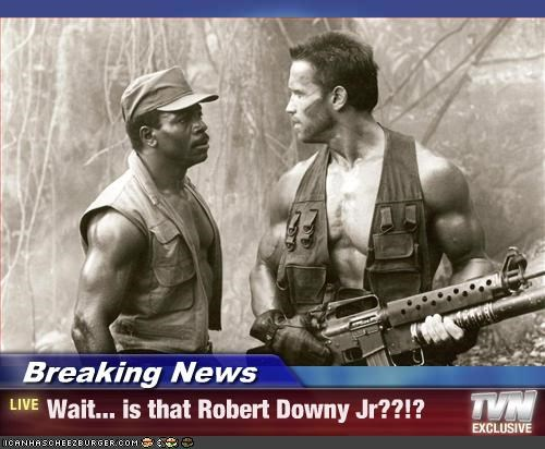 Breaking News - Wait... is that Robert Downy Jr??!?